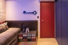 S?ÉO PAULO - BRASIL, 19/04/2018. Apartamento de Tatiana e Marco Bariani, decora?ß?£o de Shirlei Proen?ßa. Foto: CAIO GUATELLI