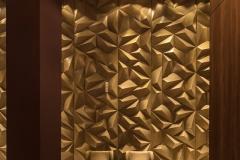 SÃO PAULO - BRASIL, 08/12/2017. Hall do edifício Harmonie. Projeto de interior por Shirlei Proença. Foto: CAIO GUATELLI